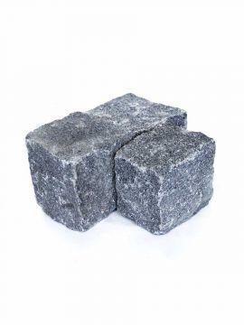 Kopfsteinpflaster Granit anthrazit 8 - 10cm